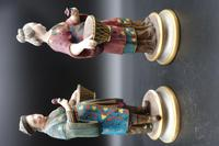 Charming Pair of Early 20th Century Meissen Figures in Oriental Garb (6 of 9)
