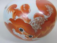 Antique Chinese Porcelain Lidded Dragon Bowl (5 of 10)