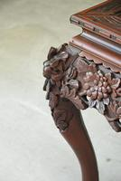 Oriental Carved Occasional Table (11 of 12)