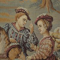 Antique Verdure Tapestry, French, Decorative Panel, Wall Covering, Victorian (4 of 12)