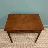 Mahogany George III Figured  Antique Side Table (2 of 5)