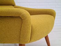 Danish relax armchair, 70s, completely renovated-reupholstered (4 of 14)