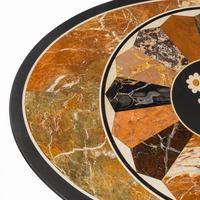 Victorian Walnut & Pietra Dura Table (10 of 16)