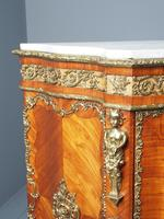 Antique Louis XVI Style Kingwood & Marble Cabinet (11 of 18)