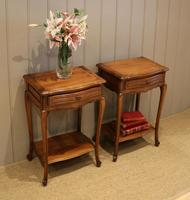 Pair of French Cherrywood Tables (5 of 11)