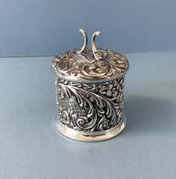 Antique Edwardian Silver String or Twine Box (4 of 4)