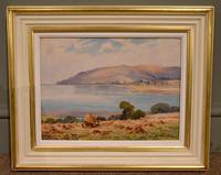 """Oil painting by Alec Caruthers Gould """"Porlock"""""""" (5 of 11)"""