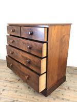 Victorian Mahogany Chest of Drawers (7 of 16)