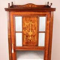 Inlaid Rosewood Music Display Cabinet (5 of 15)