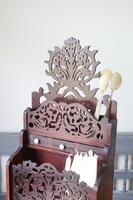 19th Century Scottish Vernacular 'folk Art' Thistle Fretwork Spoon & Candle Box (24 of 36)