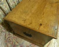 Small Victorian Pine Chest of Drawers - Carriage Paid Most Areas (6 of 8)