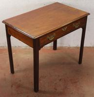 1880's Mahogany Side Table with Drawer (3 of 4)