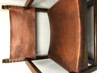 Fine Vintage Early 20th Century Original Adolf Loos Vienna Fireside Leather Armchair Secessionist Oak (6 of 46)