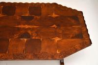 Antique Yew Wood Oyster Veneer Coffee Table (4 of 7)