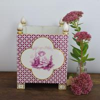 Large Victorian Minton Sevres Style Square Jardiniere (15 of 15)