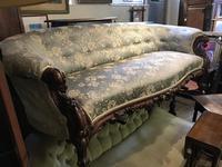 Victorian Mahogany Sofa (2 of 10)