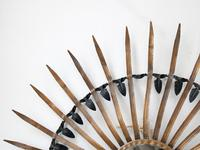 Mid-Century Metalwork Sunburst Mirror (5 of 5)