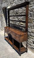 Antique Georgian Oak Potboard Dresser (2 of 28)