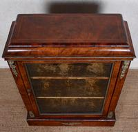 Pier Cabinet Inlaid Walnut 19th Century (10 of 13)