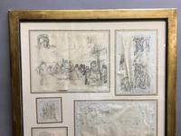 Decorative Collection of 18th Century Sketches (3 of 9)