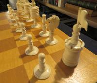 1850 Chess Set Barley Corn English Complete (4 of 5)