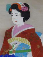 Late Meiji , early Taisho Period Japanese Painting of a Bijin- Signed (5 of 5)