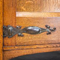 Arts & Crafts Mirror Backed Sideboard (5 of 14)
