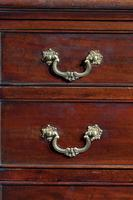 George III Period Mahogany Chest of Drawers with a Dressing Slide (2 of 4)