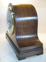 Fabulous Late 1920's English Arched Striking Mantle Clock by Empire. (2 of 5)