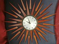 Vintage Star Burst Clock