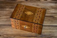 Tunbridge Ware Table Box c.1880 (4 of 8)