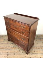 Antique Edwardian Mahogany Chest of Drawers (11 of 15)