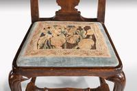 Queen Anne Period Walnut Single Chair of Elegant Shape (7 of 7)