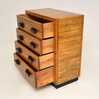 Art Deco Solid Oak Chest of Drawers (4 of 12)
