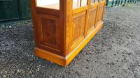 Reprodux bevan funnell yew wood display cabinet (5 of 8)