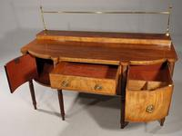 Regency Period Bow & Breakfront Sideboard (5 of 6)