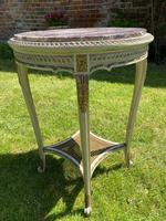 Original Paint & Gilt French Occasional Table (2 of 6)