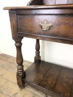 Antique Oak Pot Board Dresser (5 of 9)