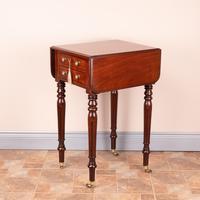 Small 19thC Mahogany Pembroke Work Table
