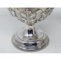 Pair of Ornate Heavy Victorian Hallmarked Silver Sugar Shakers (7 of 7)