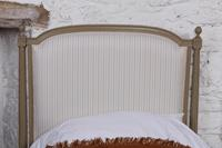 Pretty Pair of Matching French Newly Upholstered Single Beds (7 of 8)