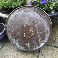 18th Century Brass Cream Pan - Log Bin (7 of 7)
