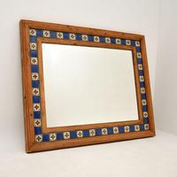 Large Mexican Tiled Mirror Vintage 1950's (2 of 10)
