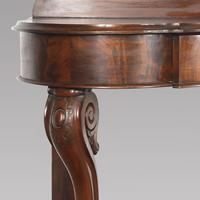 Pair of English 19th Century Mahogany Console Tables (3 of 5)