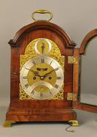 Fine Mahogany Verge Triple Pad Top Bracket Clock - Martineau, London (6 of 13)