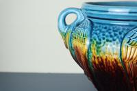 Aesthetic Movement / Arts & Crafts Ault art-pottery tri-Handled Jardinière c.1895 (12 of 27)