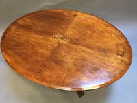 Victorian Oval Coffee Table (4 of 7)