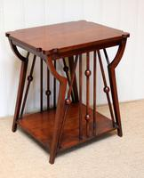 Small Arts & Crafts Walnut Table (5 of 8)