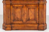 Cherry Wood Georgian Style Panelled Corner Cabinet (2 of 7)
