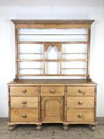 Victorian Antique Pine Dresser (4 of 18)